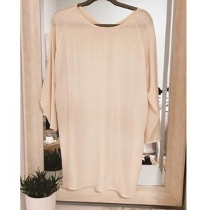Oak + Fort Noul long sleeve dress with pockets